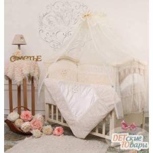 Детский постельный комплект Маленькая соня Версаль Swarovski  7 ед