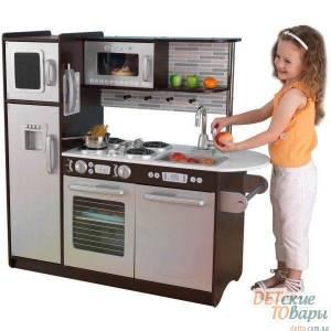 Детская интерактивная кухня Espresso KidKraft 53260