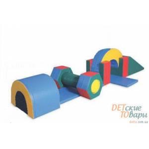 Детский игровой модуль Полоса препятствий  Kidigo-3