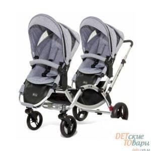Детская универсальная коляска для двойни 2в1 ABC Design Zoom