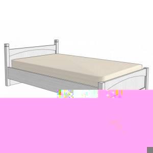 Подростковая кровать MyBaby Zefir Superwood 120*200cm