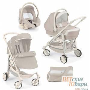 Детская универсальная коляска 3 в 1 Cam Combi Family
