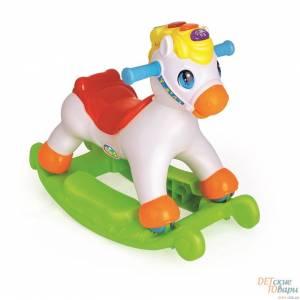 Детская качалка Huile Toys Пони