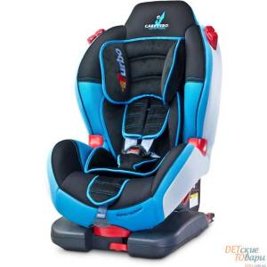 Детское автокресло группы 1-2 Caretero Sport Turbo Fix IsoFix