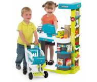 етский интерактивный супермаркет с тележкой Smoby 350207