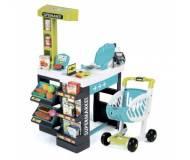 Детский интерактивный супермаркет с тележкой Smoby
