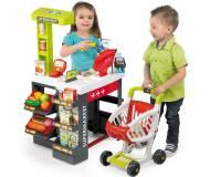 Детский интерактивный супермаркет с тележкой Smoby 350210