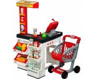 Детский интерактивный супермаркет с тележкой Smoby 350211