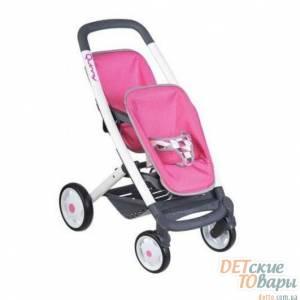 Игрушечная коляска для двойни Smoby Maxi Cosi 253297