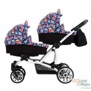 Детская универсальная коляска 2в1 для двойни Bebetto 42 (For two)