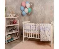 Детский постельный комплект Маленькая Соня Baby Design 6ед.