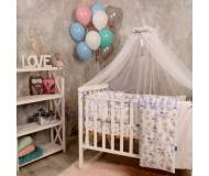 Детский постельный комплект Маленькая Соня Baby Design 7ед.