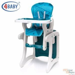 Детский стульчик-трансформер 2 в 1 4Baby Fashion