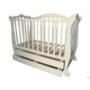 Детская кроватка Трия Весна 2 ящика