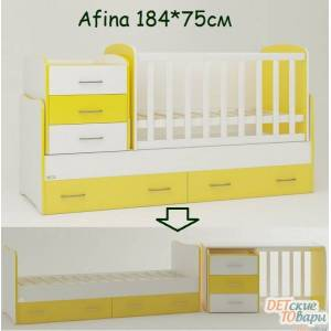 Детская кровать-трансформер Oris Afina