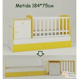 Детская кровать-трансформер Oris Metida