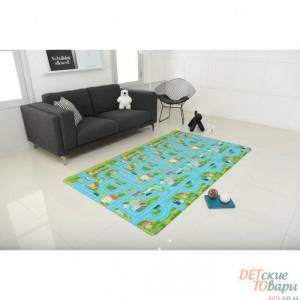 Детский игровой коврик Alzipmat City Road 240х140 см