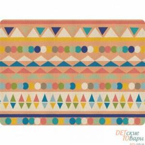 Детский игровой коврик Alzipmat Indian Bear 210х140см