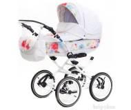 Детская универсальная коляска 2 в 1 Adamex Katrina экокожа