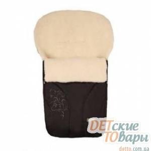 Детский спальный мешок-конверт Womar Zaffiro на овчине № 25