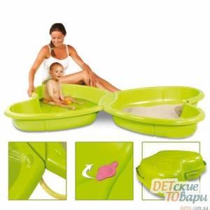 Детская песочница с бассейном Smoby 310143