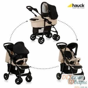Детская универсальная коляска 3в1 Hauck Shopper Trio Set