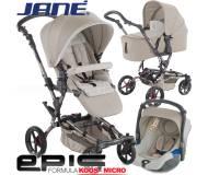 Детская универсальная коляска 3в1 Jane Epic Formula Koos Micro