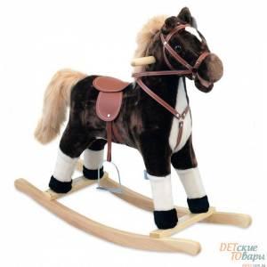 Детская лошадь-качалка Baby Mix
