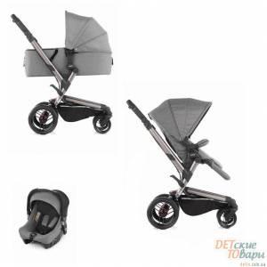 Детская универсальная коляска 3в1 Jane Rider Formula Strata Micro