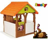 Детский игровой домик Smoby Маша и Медведь 810600