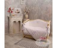 Детский постельный комплект Маленькая соня Baby chic 6 ед