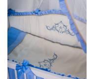 Детский постельный комплект Маленькая соня Mon Amie 6 ед.