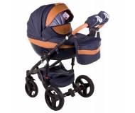 Детская универсальная коляска 2в1 Adamex Monte Deluxe Carbon