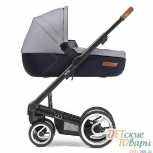 Детская классическая коляска Mutsy IGO Urban Nomad  White&Blue
