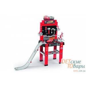 Мастерская  с инструментами и спусковой дорогой Smoby 360713
