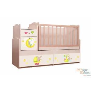 Детская кровать трансформер Вальтер 5в1