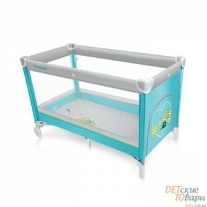 Детская кроватка-манеж Baby Design Simple