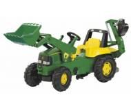 Детский трактор Rolly Toys RollyJunior John Deere