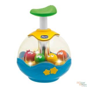 "Детская игрушка   Юла ""Аквариум""  Chicco 70074.00"