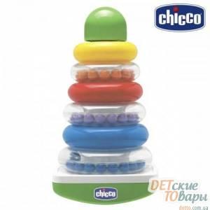 """Детская игрушка сортер """"Пирамидка-качалка"""" Chicco 63259.00"""