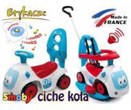 Детский автомобиль-каталка 4в1 Smoby Maestro Balade