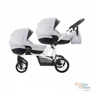 Детская универсальная коляска 2в1 для двойни Bebetto 42 Premium