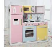 Детская интерактивная кухня Pastel KidKraft 53181