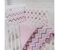 Детский постельный комплект Маленькая соня Comfort 7 ед