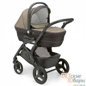 Детская универсальная коляска 3в1 CAM Dinamico Up Smart Black