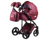 Детская универсальная коляска 2 в 1 Adamex Luciano кожа