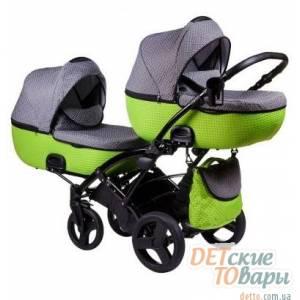 Детская универсальная  коляска для двойни 2в1 Tako Jumper Duo R-4