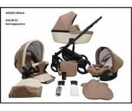 Детская универсальная коляска 2в1 Mikrus Genua
