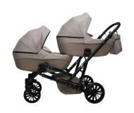 Детская универсальная коляска MIKRUS GEMELLO для двойни