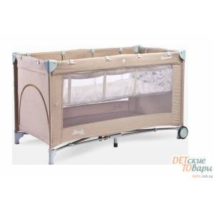 Детская манеж-кроватка Caretero Basic Plus